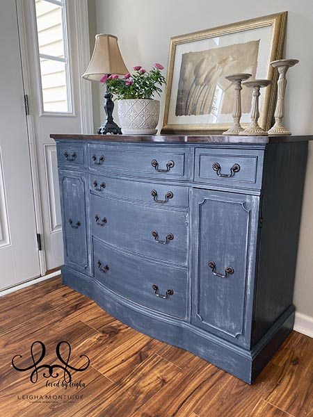 Duncan Phyfe 15 Buffet Denim Painted Buffet by Leigha